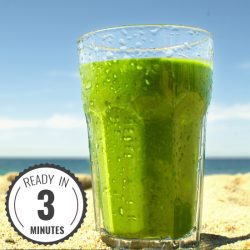 Spinach Banana Smoothie Thumbnail | hurrythefoodup.com