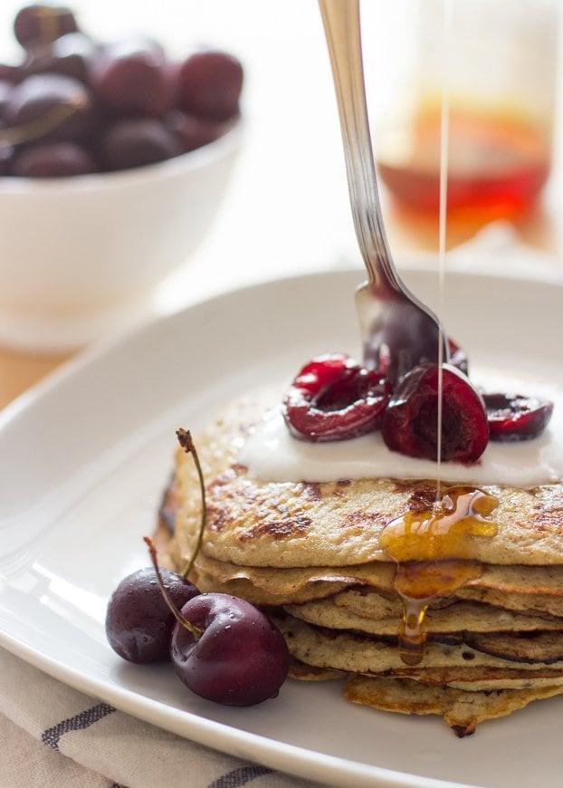 Banana Egg Pancakes | hurrythefoodup.com