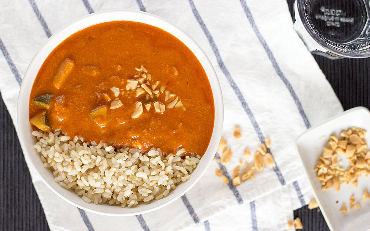 African Peanut Soup is ready| hurrythefoodup.com