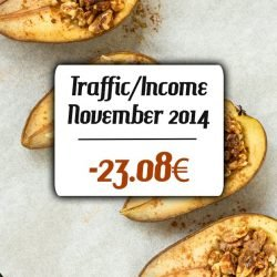 November Incomer and Traffic Report 2014 | hurrythefoodup.com