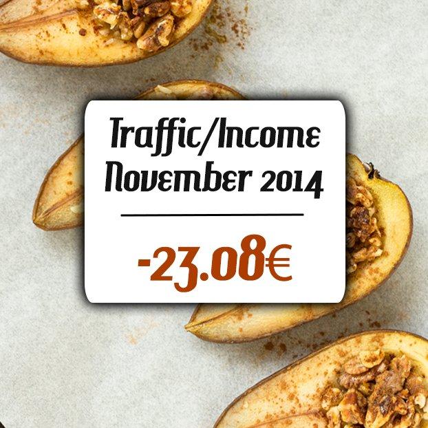 November Incomer and Traffic Report 2014 | hurrythefoodup.com
