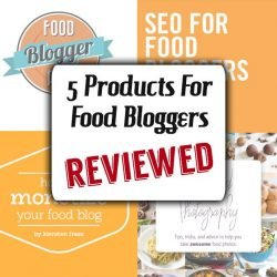 5 Products For Food Bloggers | hurrythefoodup.com