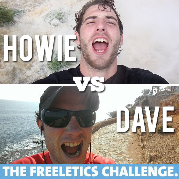 Howie vs Dave Freeletics Journal | hurrythefoodup.com