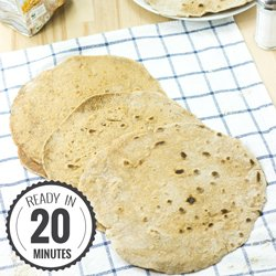 How To Make The Best Flour Tortillas #vegetarian #homemade | hurrythefoodup.com