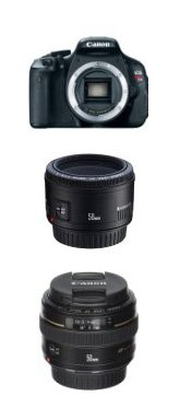 Canon T3I Rebel and canon lense cheap