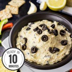 High Protein White Bean and Mustard Dip #vegan #dip | hurrythefoodup.com