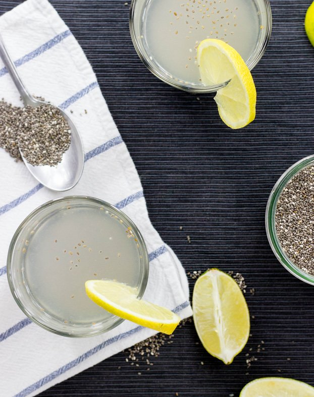 Powerful Chia Seeds Natural Energy Drink - Chia Fresca / Iskiate #drink #chia | hurrythefoodup.com