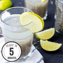 Powerful Chia Seeds Natural Energy Drink - Chia Fresca / Iskiate (5 mins) #drink #chia | hurrythefoodup.com