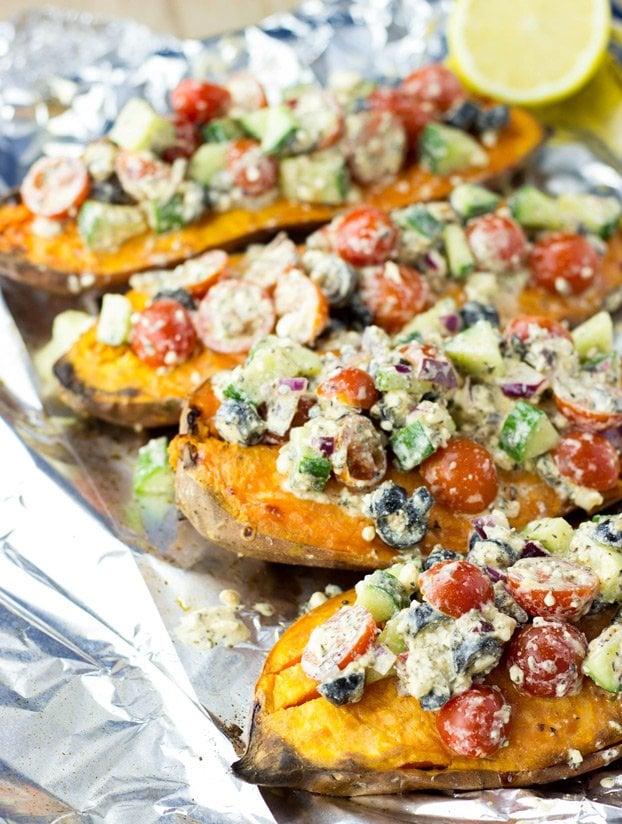 18 Baked Sweet Potato Recipes Proper Lush Hurry The Food Up