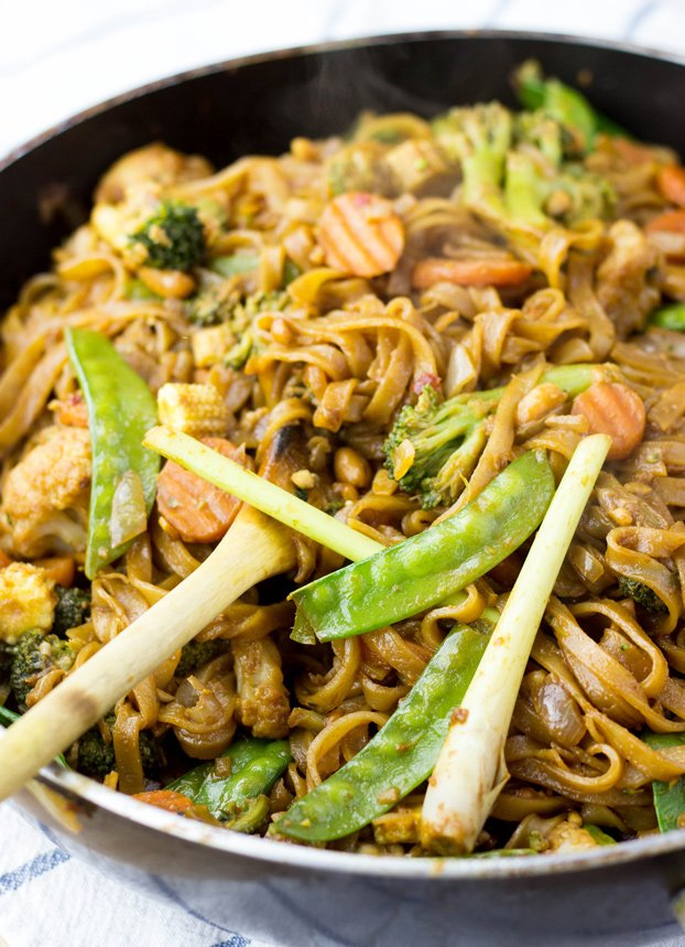 Easy Vegetable Stir Fry With Creamy Peanut Sauce Delish