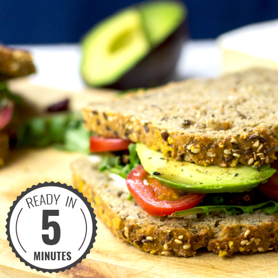 The Ultimate Avocado Sandwich Ready In 5 Juicy Unbeatable