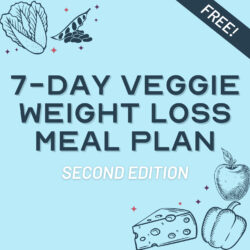 Vegetarian Diet For Weight Loss - Get our Free Meal Plan! | hurrythefoodup.com