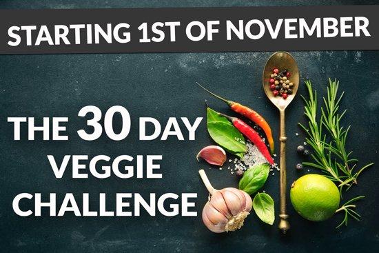 The 30 Day Veggie Challenge