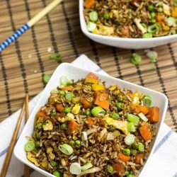 Vegetarian fried rice this is how to use up leftovers ready in 12 vegetarian fried rice forumfinder Gallery