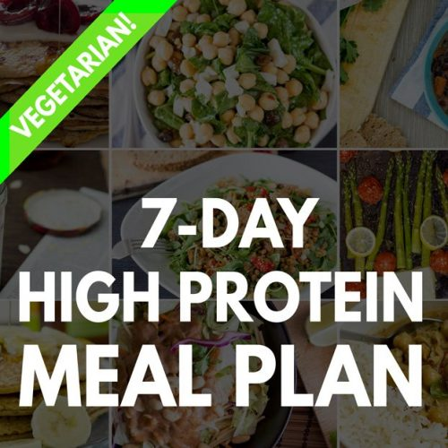 High Protein Vegetarian Meal Plan Hurry The Food Up