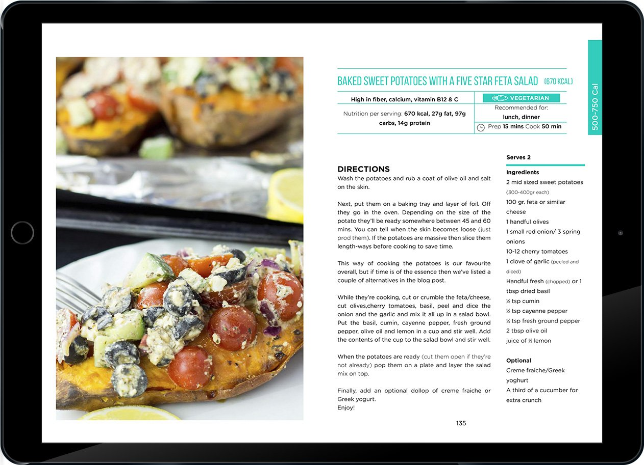 Vegetarian For Weight Loss eBook Preview