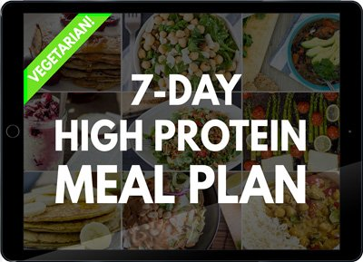 High Protein Vegetarian Meal Plan - Build Muscle and Tone Up!