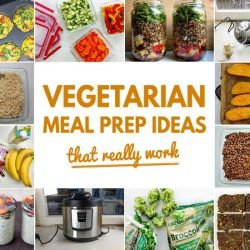 Vegetarian Meal Prep Ideas That Really Work | hurrythefoodup.com