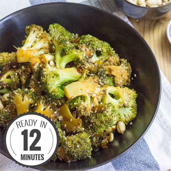 Vegan Broccoli Salad High In Protein Low In Carbs Ready In 12 Mins