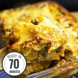 Vegetarian Zucchini Lasagna - better than any meat contemporary | hurrythefoodup.com