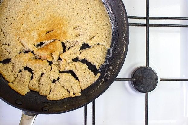 Kaiserschmarrn - a dessert pancake fit for a king | hurrythefoodup.com