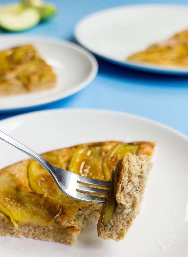 Dutch Apple Pancakes - Modernized! #served #lemon #dutch | hurrythefoodup.com