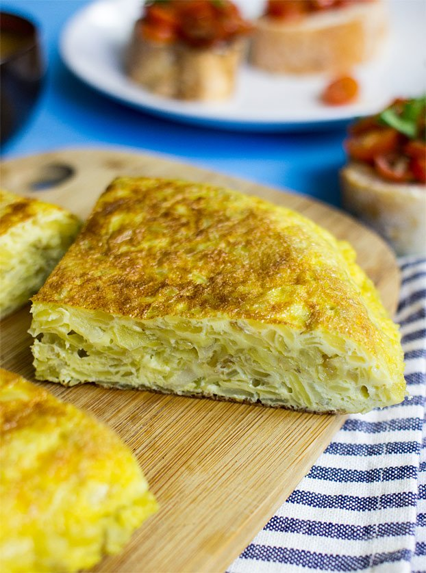 How to make spanish omelette for one