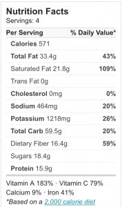 Vegan Coconut Curry   No Effort, Full Taste - coconut curry ingredients #nutritional info  hurrythefoodup.com