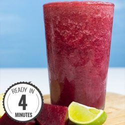 Beetroot Smoothie - Powerful yet Smooth(ie) | hurrythefoodup.com