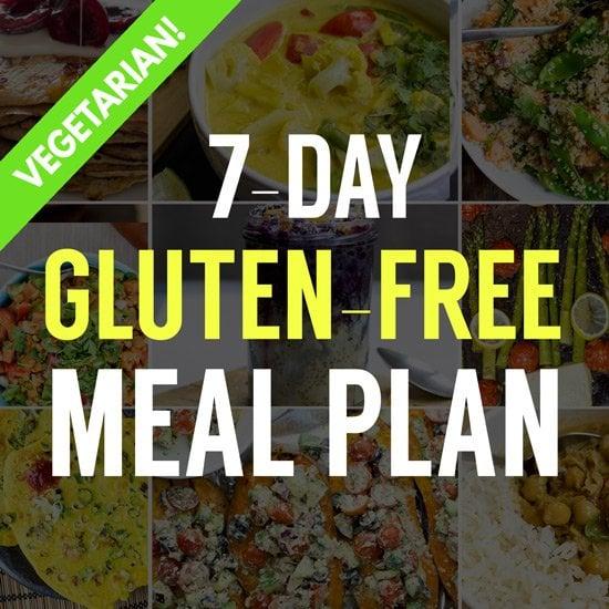 7-Day Gluten-Free Vegetarian Meal Plan - Free to Download