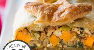 Vegetable Wellington - Feast on this! | hurrythefoodup.com