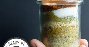 Homemade Fajita Seasoning - the best this side of El Paso | hurrythefoodup.com