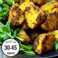 Irish Bombay Potatoes - The Best Curried Potatoes in the World | hurrythefoodup.com