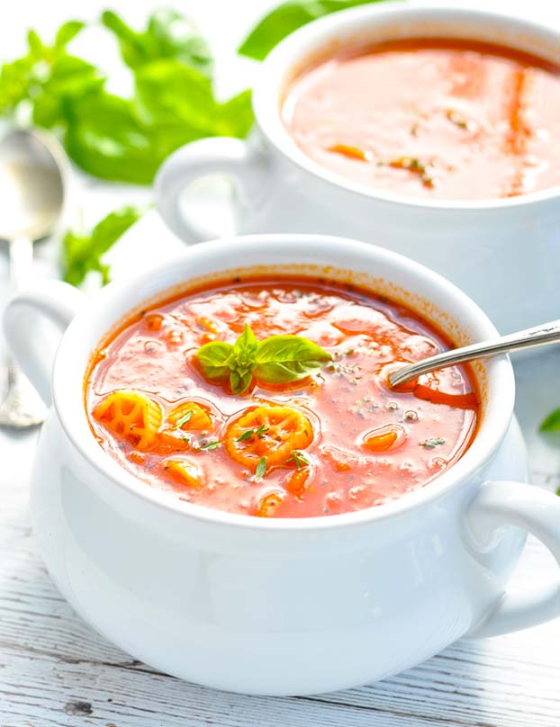 Marinara Soup - 18 Vegan Winter Soups | hurrythefoodup.com