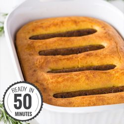 Vegetarian Toad in the Hole - The New Classic | hurrythefoodup.com
