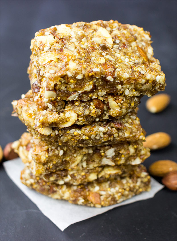 Raw Energy Bars - cut the junk - raw energy bars ready to eat #bars #workout   hurrythefoodup.com