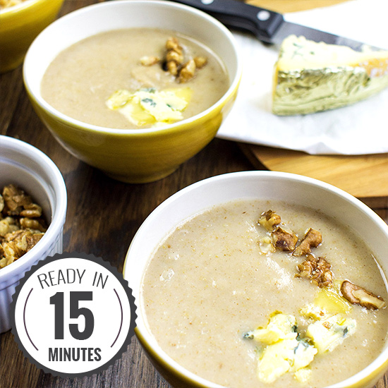 Supreme Pear Soup - and oh so easy | hurrythefoodup.com
