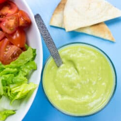 Avocado Salad Dressing - Dress to Impress | hurrythefoodup.com