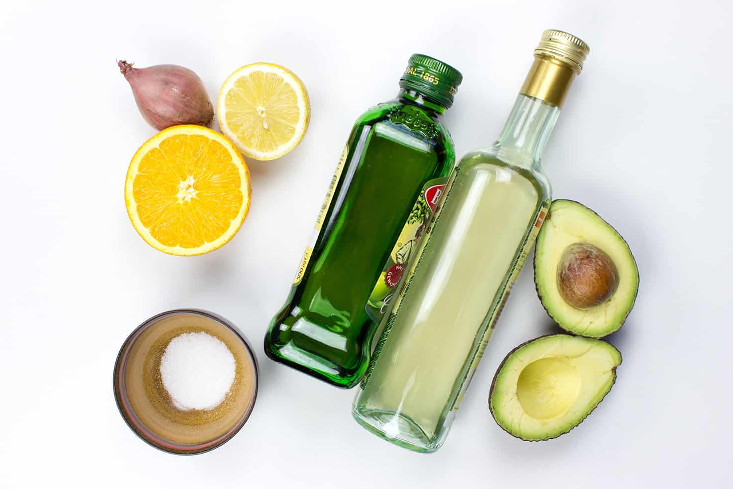 Avocado Salad Dressing - Dress to Impress - dressing ingredients #good fats #lemon | hurrythefoodup.com