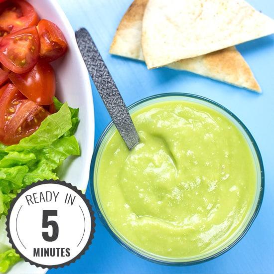 Avocado Salad Dressing - Dress to Impress | hurrythefoodup.com