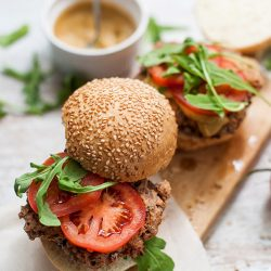 Picture 20: Black Bean Burgers - Taking the BBQ Back - delicious and healthy burgers #breadcrumbs #barbie | hurrythefoodup.com