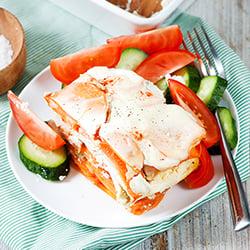 Healthy Sweet Potato Casserole - Hungarian-style   hurrythefoodup.com