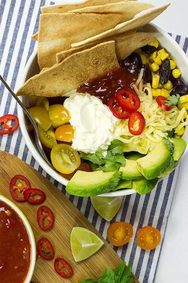 Speedy Gonzales - the perfect burrito bowl #homemade #quick | hurrythefoodup.com