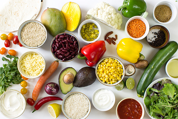 How to make a burrito bowl – the ultimate guide + 5 surefire winners - burrito bowls ingredients #burrito #vegetarian | hurrythefoodup.com