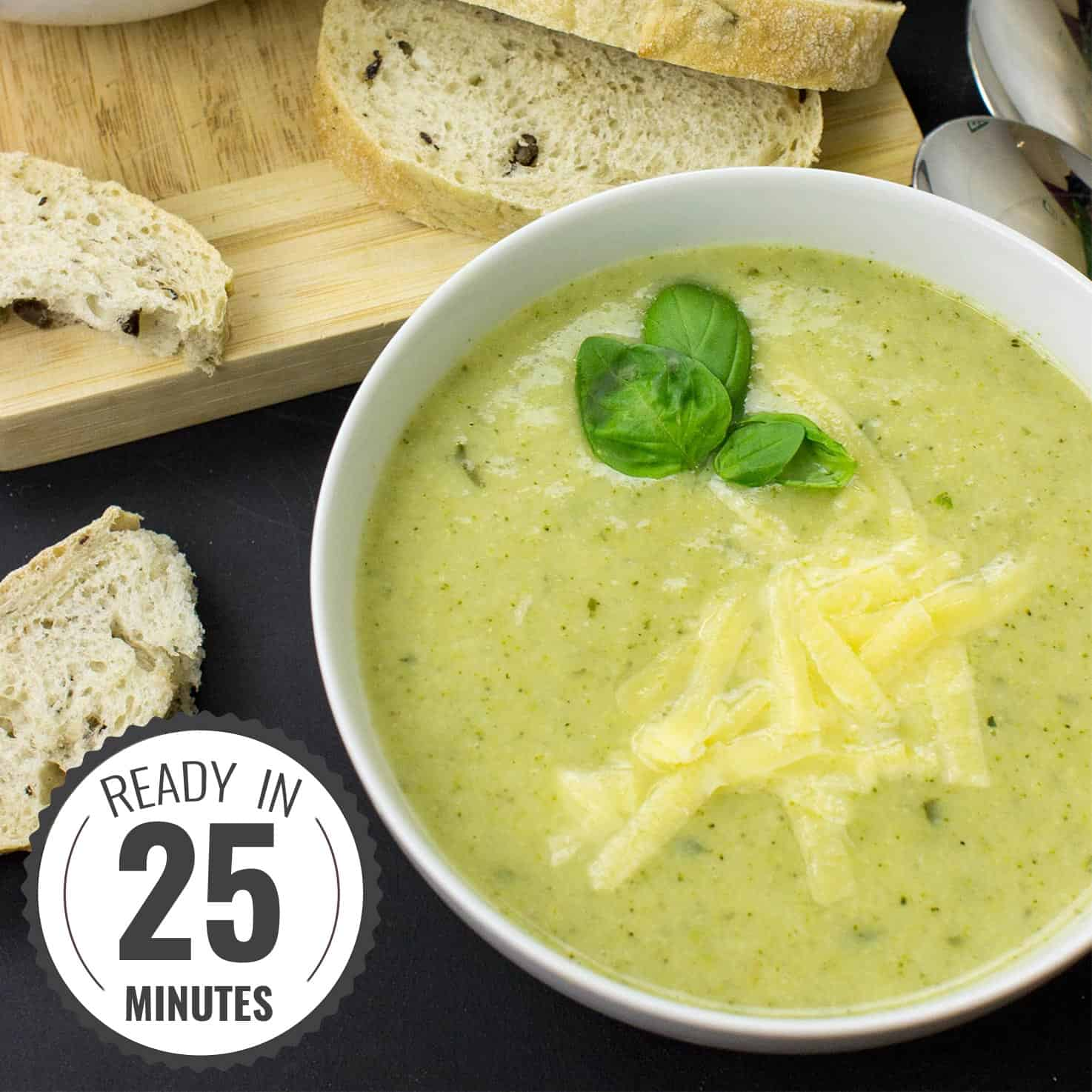 Easy Broccoli and Cauliflower Soup - The True Superfood | hurrythefoodup.com