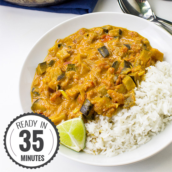 Amazing Aubergine Curry (Eggplant Curry) – Vegan & Delicious | hurrythefoodup.com