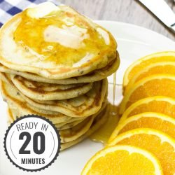 No Egg Pancakes – Rising to the Occasion | hurrythefoodup.com