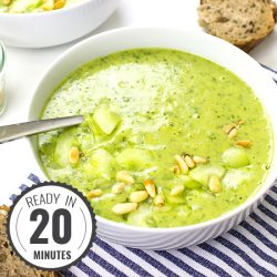Rocket Soup / Arugula Soup – It's the food that counts | hurrythefoodup.com
