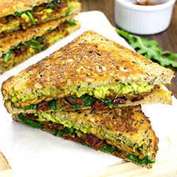 Tempeh Sandwich – Give in to Temptation | hurrythefoodup.com