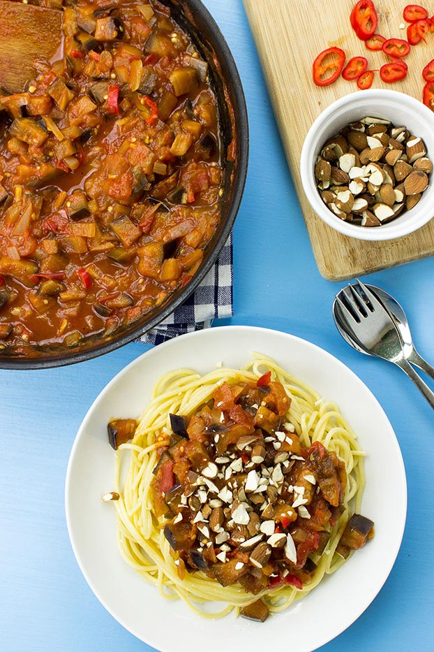 Pasta Arrabiata – Spice Up Your Food Life - pasta arrabiata is served #garlic #tomatoes | hurrythefoodup.com